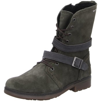Schuhe Mädchen Boots Vado Schnuerstiefel BJÖRK 88006-522 grün