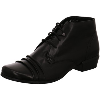Schuhe Damen Low Boots Regarde Le Ciel Stiefeletten MELANIE01 schwarz
