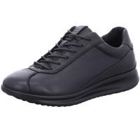 Schuhe Damen Sneaker Low Ecco Schnuerschuhe Aquet 207113.01001 schwarz