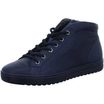 Schuhe Damen Boots Ecco Stiefeletten Fara Boot 235343/1303 blau