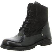 Schuhe Damen Boots Lazamani Stiefeletten 74.435 BLACK schwarz
