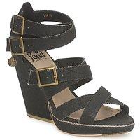 Schuhe Damen Sandalen / Sandaletten Feud WASP Schwarz