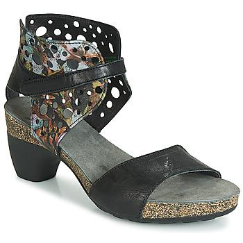 Schuhe Damen Sandalen / Sandaletten Think ZEG Schwarz