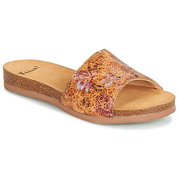 Schuhe Damen Pantoffel Think TANA Braun
