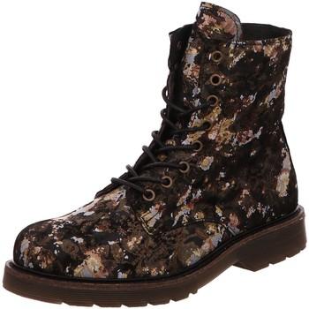Schuhe Damen Low Boots Apple Of Eden Stiefeletten Stiefelette Stiefel Boot Multi Neu Sun18 schwarz