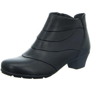 Schuhe Damen Low Boots Longo Stiefeletten Beq.Schnür/Schlupfstf 1014868 schwarz