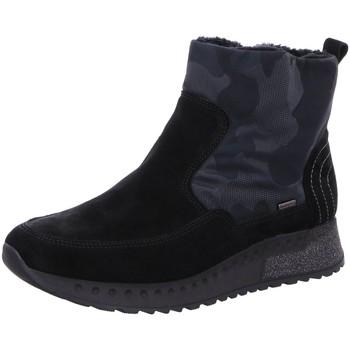 Schuhe Damen Boots Romika Stiefeletten 4950128/101 schwarz