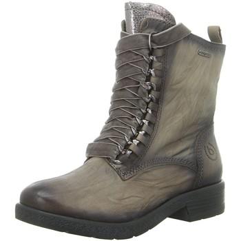 Schuhe Damen Low Boots Bugatti Stiefeletten 431328334139-1590 2 grau