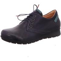 Schuhe Damen Sneaker Low Think Schnuerschuhe 3-83070-84 blau