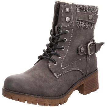 Schuhe Damen Low Boots Supremo Stiefeletten 9025303 coal grau