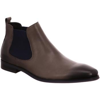 Schuhe Herren Boots Digel Schlupfstiefelette ette Grau Stetson 1001953-40 grau
