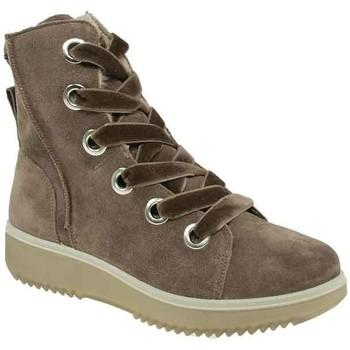 Schuhe Damen Sneaker High Legero Stiefeletten 3-09621-57 braun