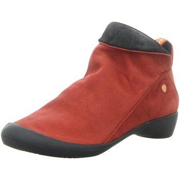 Schuhe Damen Boots Fortuna Stiefeletten FARAH P9000 85551 rot