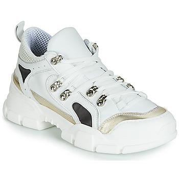 Schuhe Damen Sneaker Low Sweet Lemon ELISA Weiss