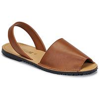 Schuhe Damen Sandalen / Sandaletten So Size LOJA Braun