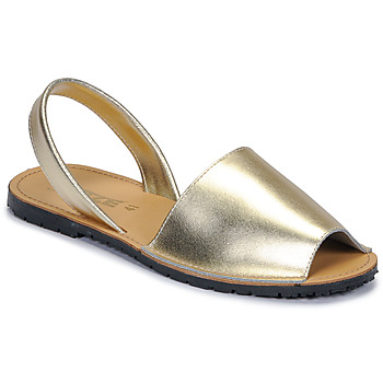 Schuhe Damen Sandalen / Sandaletten So Size LOJA Gold