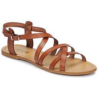 Schuhe Damen Sandalen / Sandaletten So Size IDITRON Braun