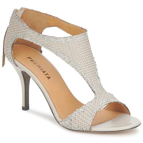 Premiata 2834 LUCE Creme  Schuhe Sandalen / Sandaletten Damen 227,50