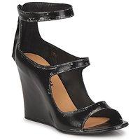 Schuhe Damen Sandalen / Sandaletten Premiata 2830 LUCE Schwarz