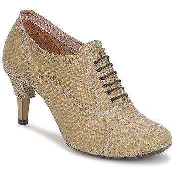 Schuhe Damen Ankle Boots Premiata 2851 LUCE Beige