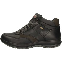 Schuhe Herren Sneaker High Grisport 8665LV.5G Bootie Mann Schwarz Schwarz