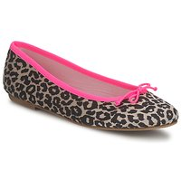 Schuhe Damen Ballerinas Cara NEONLEOPARD Leopard