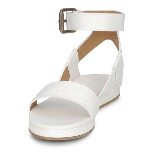 Rochas RO18002 Weiss  Schuhe 346,50 Sandalen / Sandaletten Damen 346,50 Schuhe 0f8741