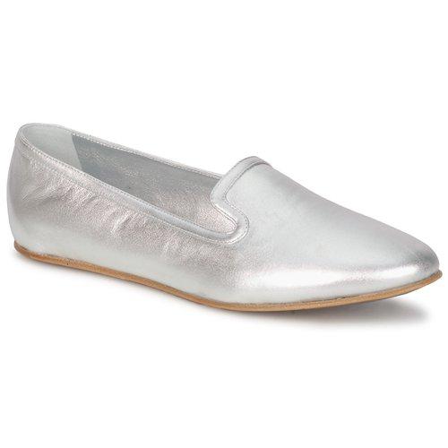 Schuhe Damen Slipper Rochas RO18101 Silber