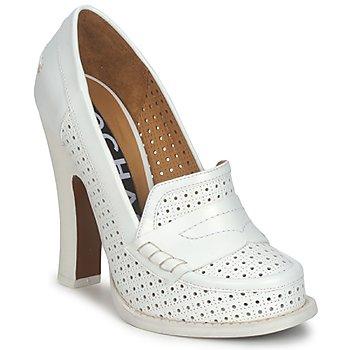 Schuhe Damen Pumps Rochas RO18031 Weiss