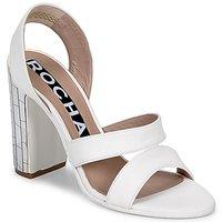 Schuhe Damen Sandalen / Sandaletten Rochas RO18244 Weiss