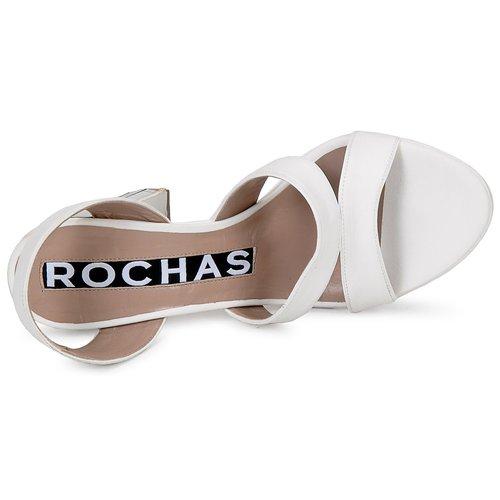 Rochas Sandalen RO18244 Weiss  Schuhe Sandalen Rochas / Sandaletten Damen 342,30 810e12