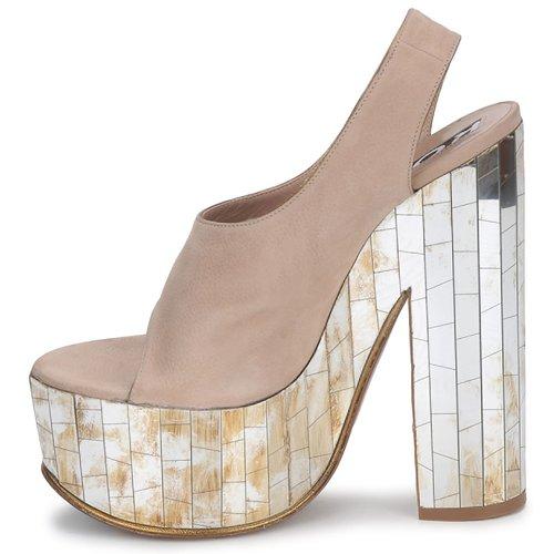Rochas RO18175 Tabac  Schuhe Sandalen / Sandaletten Damen Damen Damen 295,60 c91412