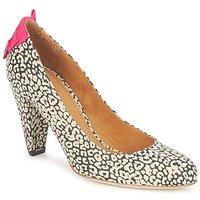 Schuhe Damen Pumps Maloles CHRISTIA Schwarz / Weiss / Rose