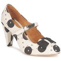 Schuhe Damen Pumps Maloles CLARITA Weiss / Schwarz