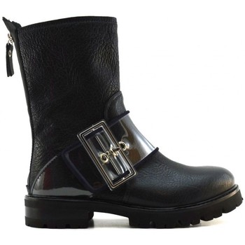 Schuhe Damen Low Boots Agl Attilio Giusti Leombruni D716551B Blau