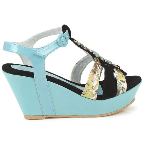 Regard  RAFAVO Schwarz / Blau  Regard Schuhe Sandalen / Sandaletten Damen 104,30 a45d56