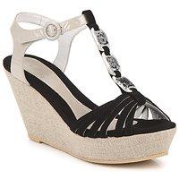 Schuhe Damen Sandalen / Sandaletten Regard RAFAZA Schwarz