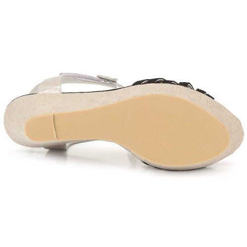 Regard RAFAZA Schwarz Damen Schuhe Sandalen / Sandaletten Damen Schwarz 74,50 f62dc8