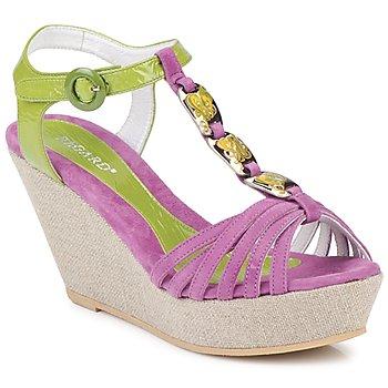 Schuhe Damen Sandalen / Sandaletten Regard RAFAZA Grün