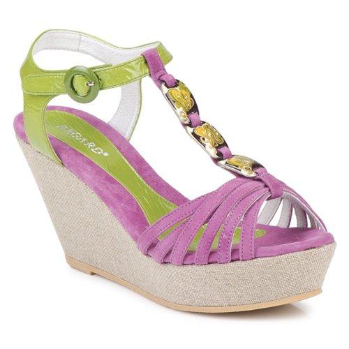 Regard RAFAZA Grün  Schuhe Sandalen / Sandaletten Damen 119,20
