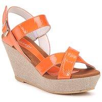 Schuhe Damen Sandalen / Sandaletten Regard RAGA Orange