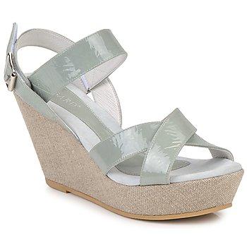 Schuhe Damen Sandalen / Sandaletten Regard RAGA Grün