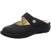 Schuhe Damen Pantoletten / Clogs Finn Comfort Pantoletten ROSEAU 02598-046099 schwarz