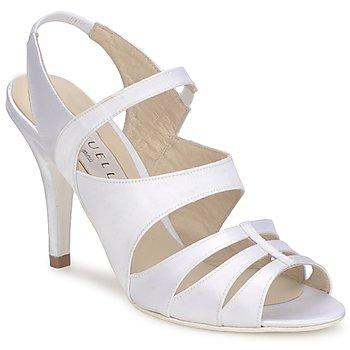 Schuhe Damen Sandalen / Sandaletten Vouelle ELISA Weiss