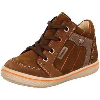 Schuhe Jungen Boots Ricosta Schnuerschuhe JESSE 68 2520100/261 braun
