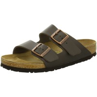 Schuhe Damen Sandalen / Sandaletten Birkenstock Pantoletten 51101 braun