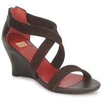 Schuhe Damen Sandalen / Sandaletten Vialis NIVEL Braun