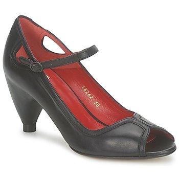 Schuhe Damen Pumps Vialis POUPE Schwarz