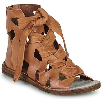 Schuhe Damen Sandalen / Sandaletten Airstep / A.S.98 RAMOS LACES Camel