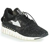 Schuhe Damen Sneaker Low Airstep / A.S.98 DENALUX Schwarz